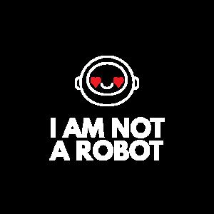 Ich bin kein Roboter