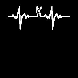 Metal Musik Herzschlag