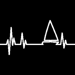 Segelboot Heartbeat weiss
