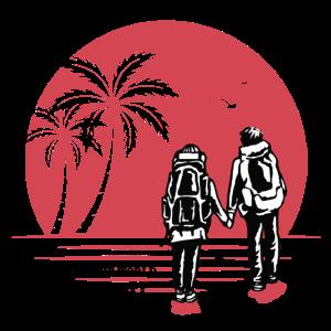Backpacking Urlaub - Paar