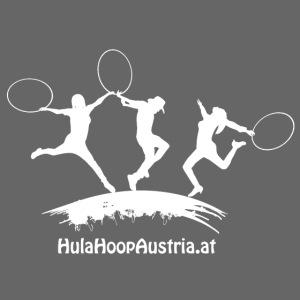 Hula Hoop Jumping Shadow White