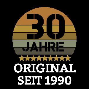 30 Jahre - Original seit 1990