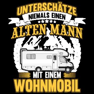 Wohnwagen Wohnmobil Camping Opa Spruch Geschenk
