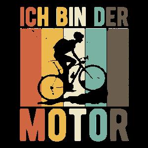 Fahrrad Fahrer Ich Bin Der Motor MTB
