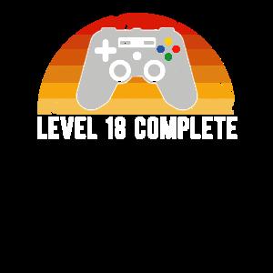 18. Geburtstag Level 18 Complete