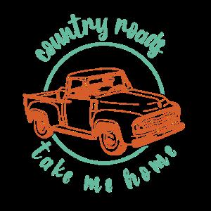 Die Country Road bringt liebhaber immer nachhause