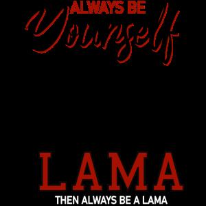 Ich bin ein Lama