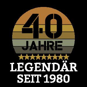 40 Jahre Legendaer seit 1980