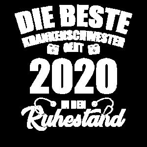 Krankenschwester Rente & Ruhestand 2020 Geschenk