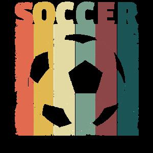 Vintage Soccer Ball Retro soccer player Shirt