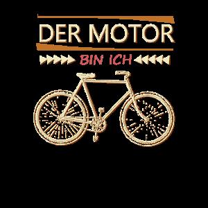 Fahrrad fahren Spruch