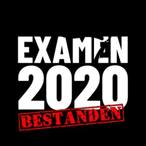 Examen 2020 Abschluss Geschenk