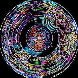 farbiges Vinyl