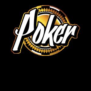 Poker Chip Gold