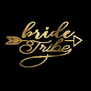 Personalisierbar Bride Tribe Arrow Gold