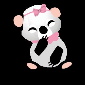panda baby girl süss panda bär geburtstagsgeschenk