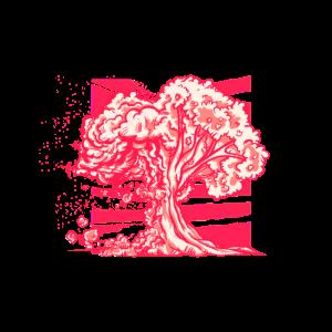 Atompilz Baum Atombombe Natur Illustration