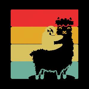 Faultier und Alpaka liebe | Perfekte Geschenkidee