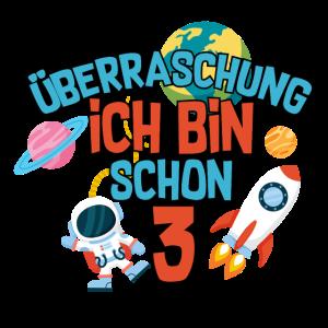 Geburtstag - Kids - Astronaut