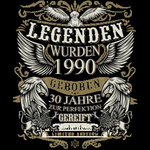 Geschenk zum 30 Geburtstag Jahrgang 1990 30 Jahre