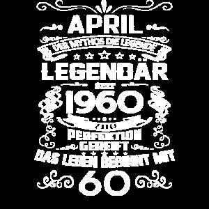 60. Geburtstag April 1960 Geschenk