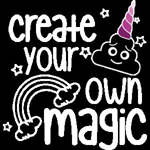 UNICORN CREATE YOUR OWN MAGIC