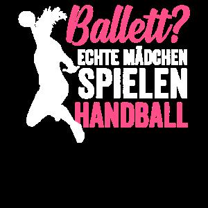 Handball Handballerin