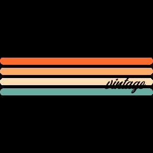 Vintage Streifen