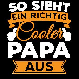 Cooler Papa Shirt - Geschenk für den coolsten Papa