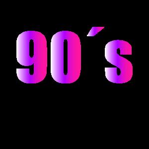 Damen 90er Jahre Outfit 90s Party Kostüm 90's
