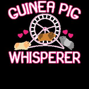 Guinea Pig Whisperer guinea pig owner Shirt