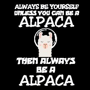 Süßes Lama Alpaka Alpaca Lustiger Spruch