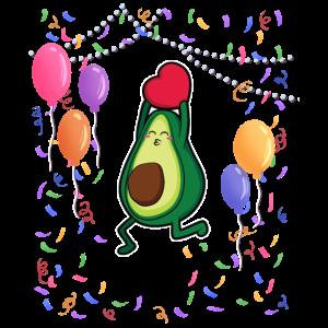 Avocado party vegan