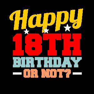 18. Geburtstag Geschenkidee