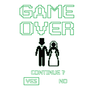 Gameing Game Over Junggesellenabschied