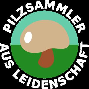 Pilzsammler in der Natur