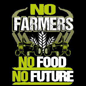 Bauern Demo Protest No Farmers No Food No Future