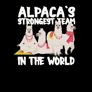 Alpacas strong team