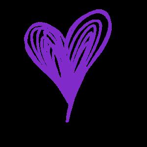 Heart, Purple