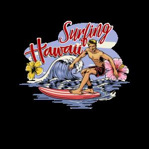 Surfing Wellenreiten Hawaii Aloha Surfen Geschenk