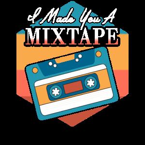 I Made You A Mixtape Old School Shirt