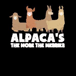 Alpaka lustiges Team