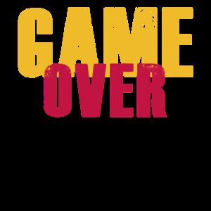 Game Over Nerd Zocken Spieler