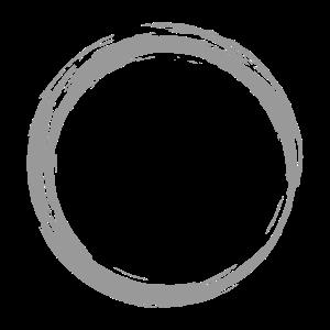 Kreis Symbol Design Grau