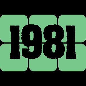 1981 Jahreszahl