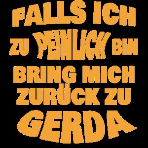 Gerda zu peinlich