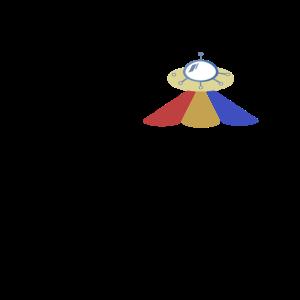 Retro Raumschiff