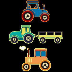 Traktoren Trecker Jungs Bauernhof Fahrzeug Traktor
