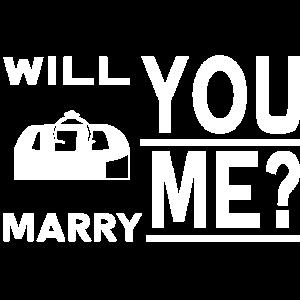 Willst du mich Heiraten für Männer mit Ehering