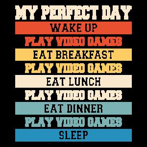 Play Video Games, Sleep